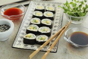 Sushi para los papás que se animan