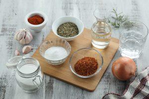 Salsas Chimichurri y Criolla