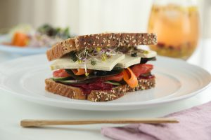 Sándwich vegano ultranutritivo