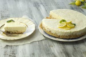 Tarta de limón súper fácil