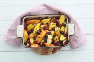 Frutas al horno