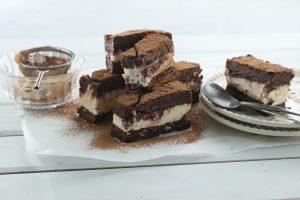 Barritas de brownie