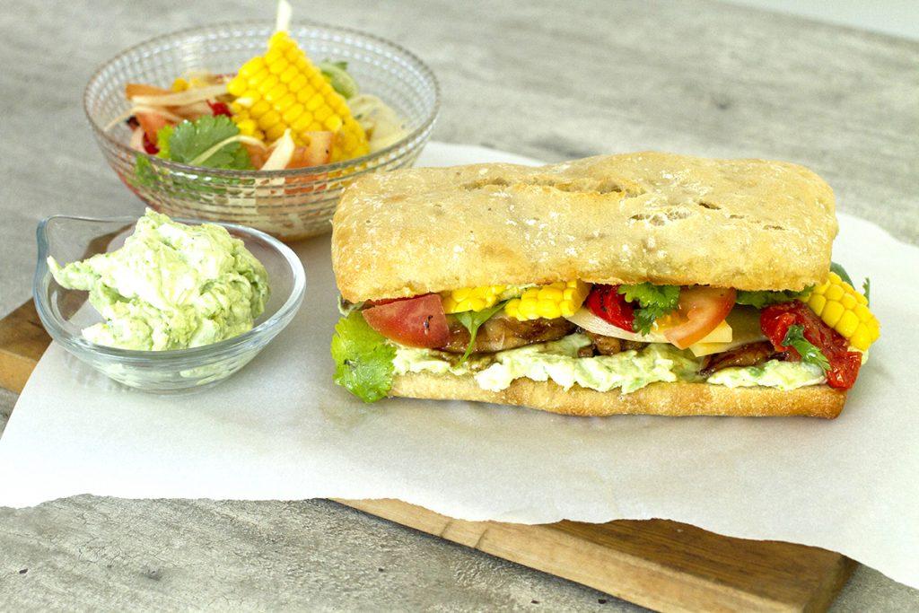 sandwich pollo picante
