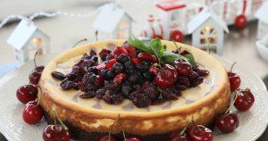 Cheesecake Dúo de Arándanos