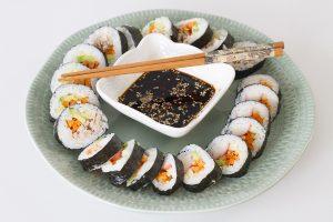 Sushi coreano o Gimbap