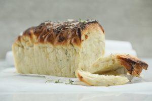 Pan de queso parmesano y ajo