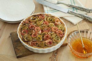 Tarta Rosa de Manzanas