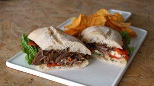 Súper sándwich de roastbeef