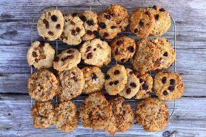 Cookies de avena