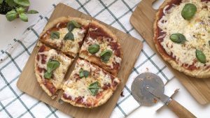 Pizza frita Margarita