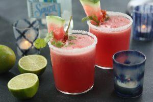 Margaritas de sandía