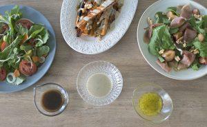 3 vinagretas fáciles para ensaladas