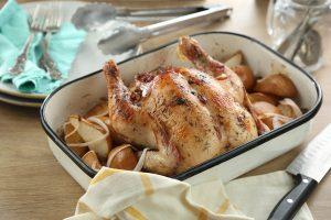 Pollo a la vainilla