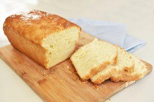 Pan blanco de leche