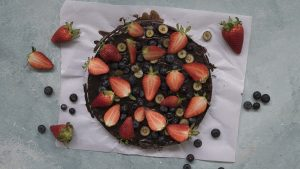 Torta Brownie sin cocción