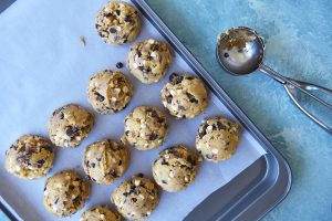 Cómo freezar masa de cookies