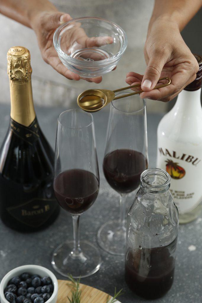 Trago con champán