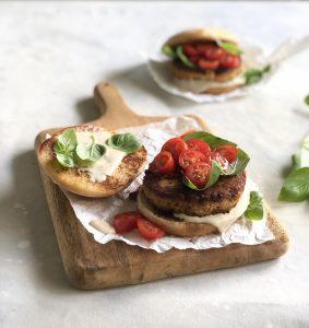 Mini hamburguesas de atún