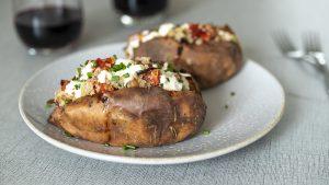 Batatas rellenas