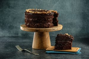 Súper torta chocolatosa