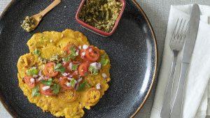 Omelette vegano
