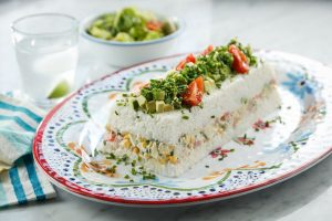 Terrina de arroz y atún