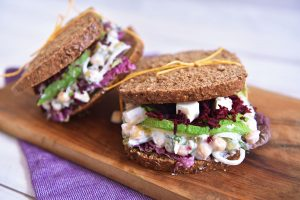 Sandwich de garbanzos