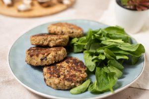 Día del Cereal: Veggie Burgers de Avena y Hongos
