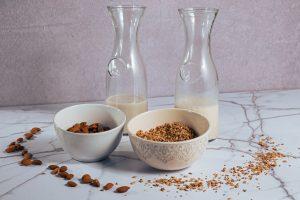 ¿Cómo preparar leches vegetales?